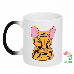 Kubek-kameleon Mały tygrys - PrintSalon