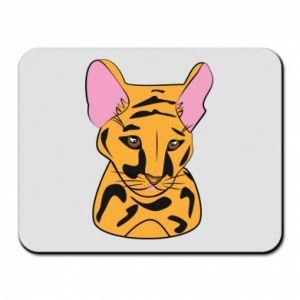 Podkładka pod mysz Mały tygrys - PrintSalon