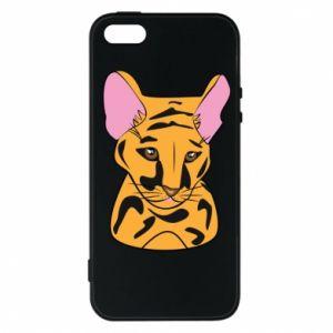 Etui na iPhone 5/5S/SE Mały tygrys - PrintSalon