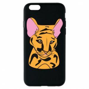 Etui na iPhone 6/6S Mały tygrys