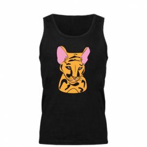 Męska koszulka Mały tygrys - PrintSalon
