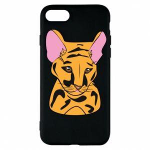 Etui na iPhone 7 Mały tygrys