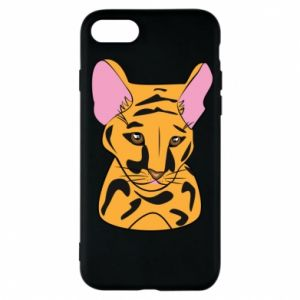 Etui na iPhone 7 Mały tygrys - PrintSalon