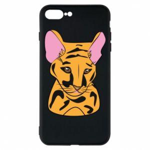 Etui na iPhone 8 Plus Mały tygrys - PrintSalon