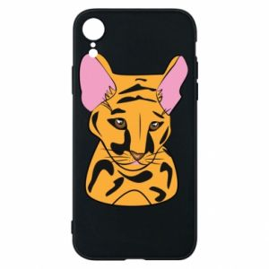 Etui na iPhone XR Mały tygrys