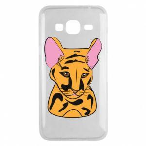 Etui na Samsung J3 2016 Mały tygrys