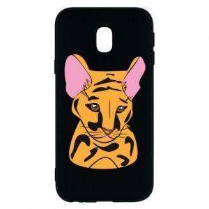Etui na Samsung J3 2017 Mały tygrys