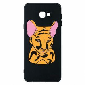 Etui na Samsung J4 Plus 2018 Mały tygrys