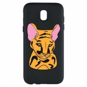 Etui na Samsung J5 2017 Mały tygrys