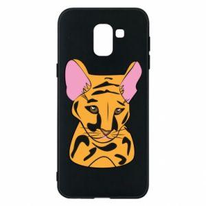 Etui na Samsung J6 Mały tygrys - PrintSalon
