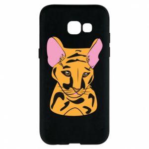 Etui na Samsung A5 2017 Mały tygrys - PrintSalon