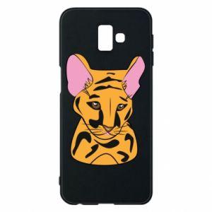 Etui na Samsung J6 Plus 2018 Mały tygrys