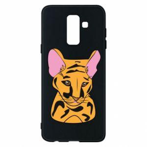 Etui na Samsung A6+ 2018 Mały tygrys - PrintSalon