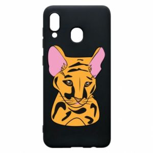 Etui na Samsung A20 Mały tygrys - PrintSalon