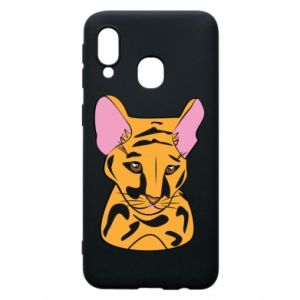 Etui na Samsung A40 Mały tygrys