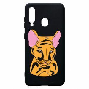 Etui na Samsung A60 Mały tygrys
