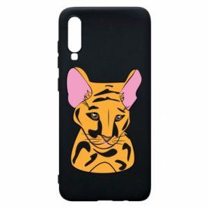 Etui na Samsung A70 Mały tygrys
