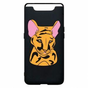 Etui na Samsung A80 Mały tygrys - PrintSalon