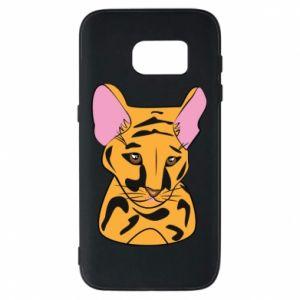 Etui na Samsung S7 Mały tygrys