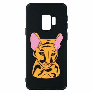 Etui na Samsung S9 Mały tygrys
