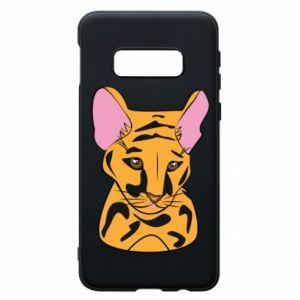 Etui na Samsung S10e Mały tygrys