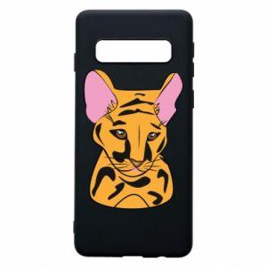 Etui na Samsung S10 Mały tygrys