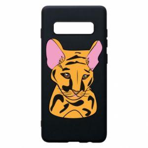 Etui na Samsung S10+ Mały tygrys