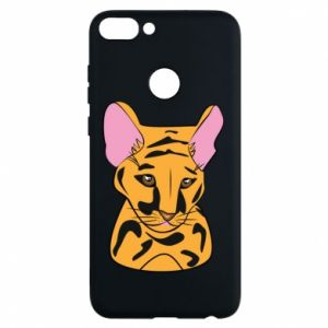 Etui na Huawei P Smart Mały tygrys - PrintSalon