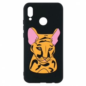 Etui na Huawei P20 Lite Mały tygrys - PrintSalon