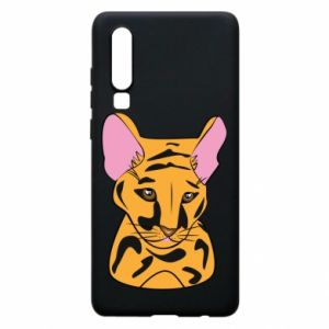 Etui na Huawei P30 Mały tygrys - PrintSalon