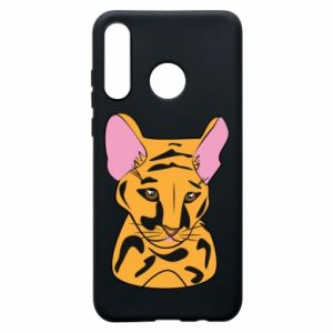 Etui na Huawei P30 Lite Mały tygrys