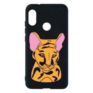 Etui na Mi A2 Lite Mały tygrys - PrintSalon