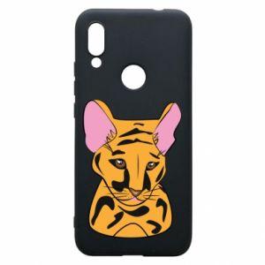 Etui na Xiaomi Redmi 7 Mały tygrys - PrintSalon
