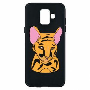 Etui na Samsung A6 2018 Mały tygrys - PrintSalon