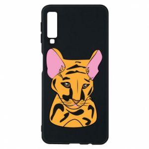Etui na Samsung A7 2018 Mały tygrys - PrintSalon
