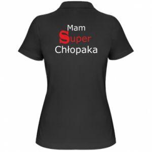 Damska koszulka polo Mam Super Chłopaka