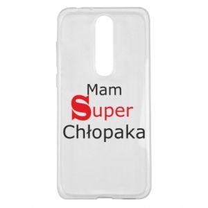 Etui na Nokia 5.1 Plus Mam Super Chłopaka