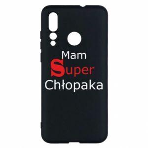 Etui na Huawei Nova 4 Mam Super Chłopaka