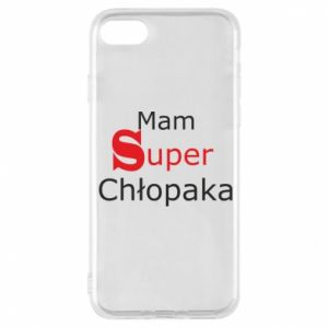 Phone case for iPhone 8 I have a Super Boy - PrintSalon