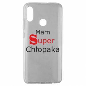 Etui na Huawei Honor 10 Lite Mam Super Chłopaka