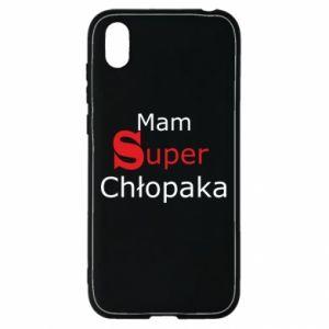 Etui na Huawei Y5 2019 Mam Super Chłopaka