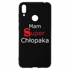 Etui na Huawei Y7 2019 Mam Super Chłopaka