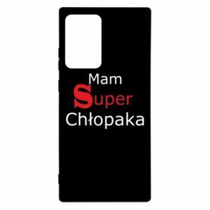Etui na Samsung Note 20 Ultra Mam Super Chłopaka