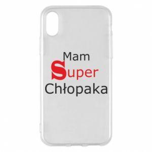 Phone case for iPhone X/Xs I have a Super Boy - PrintSalon