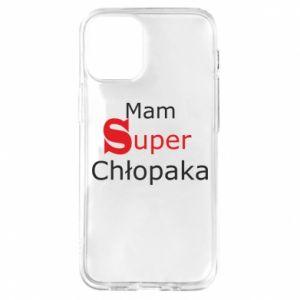 Etui na iPhone 12 Mini Mam Super Chłopaka