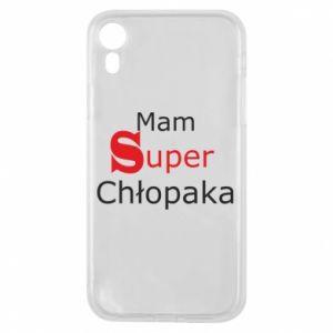Phone case for iPhone XR I have a Super Boy - PrintSalon
