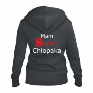 Women's zip up hoodies I have a Super Boy - PrintSalon