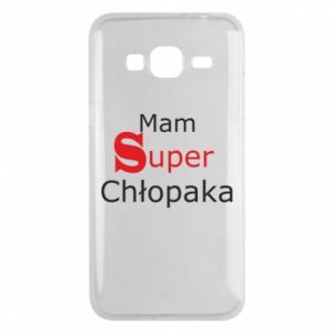 Phone case for Samsung J3 2016 I have a Super Boy - PrintSalon
