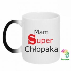 Chameleon mugs I have a Super Boy