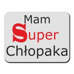 Mouse pad I have a Super Boy